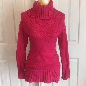 LOFT Hot pink sweater